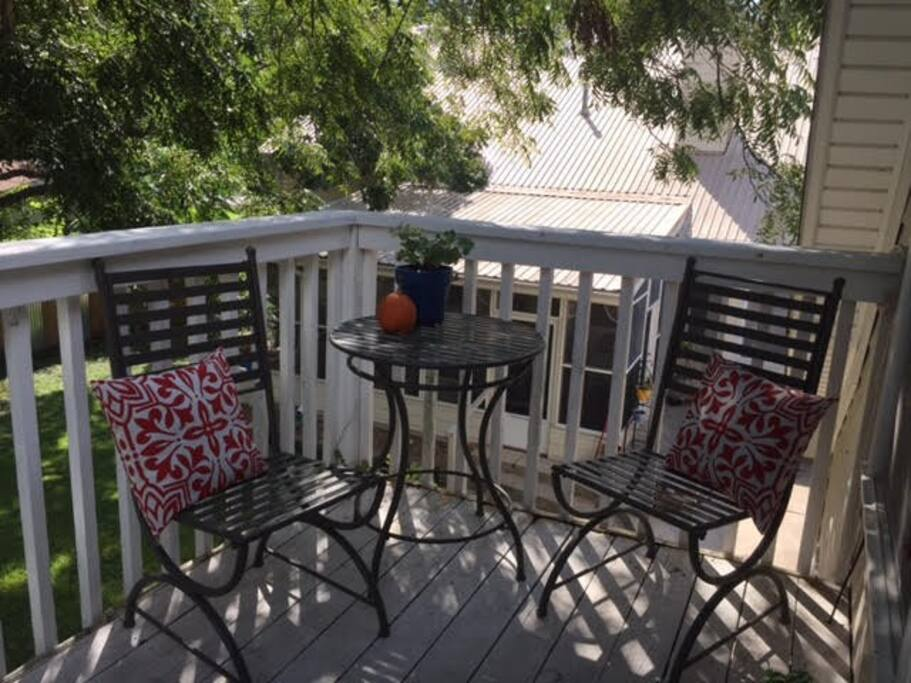 Porch at front entry way