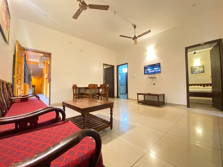 2BHK VILLA WITH BALCONY NEAR PARADISE BEACH