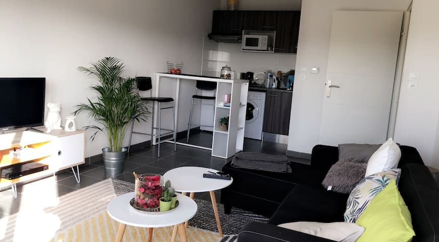 Appartement T2 proche métro Borderouge (300m)