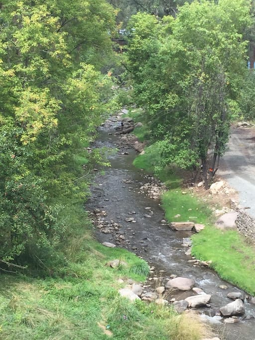 Our Ruidoso river within walking distance