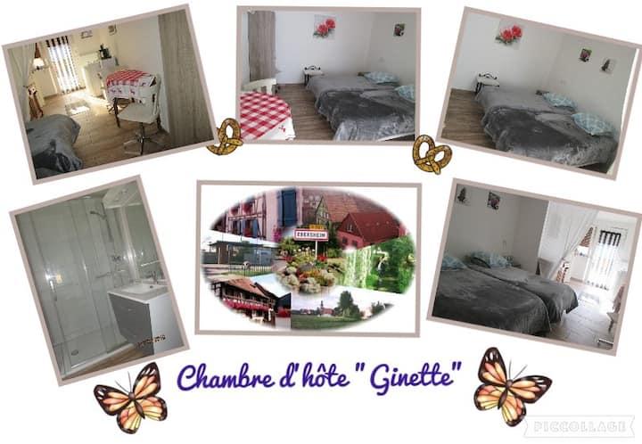 """Chambre d'hote chez """"Ginette"""""""