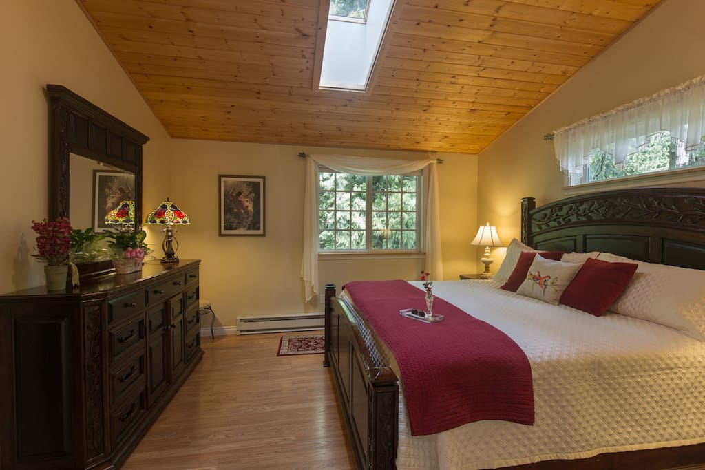Forest Romance King Bedroom.