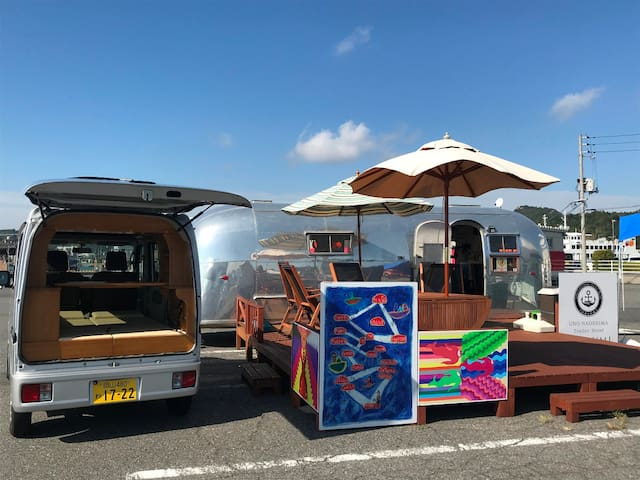Naoshima/Great adventure with our tiny motorhome!