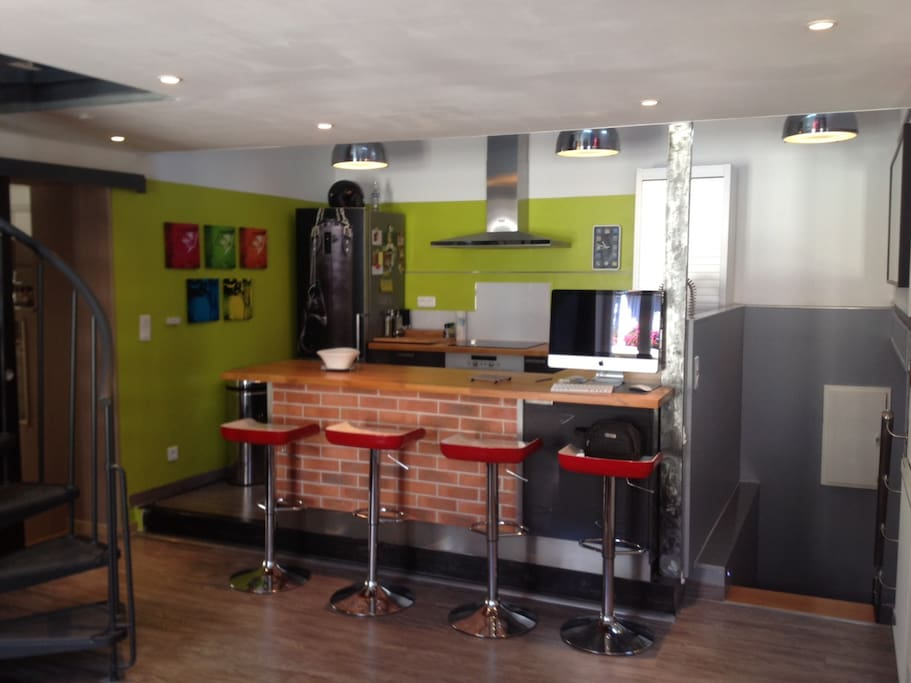 Joli duplex centre ville appartements louer salon de provence provence alpes c te d 39 azur - Location garage salon de provence ...