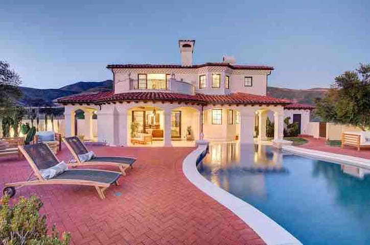$5 million Ocean View Villa in Malibu 5300 sq. ft.