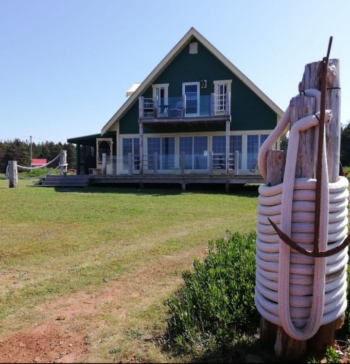 Sandpiper Beach House,4 bedroom oceanfront cottage