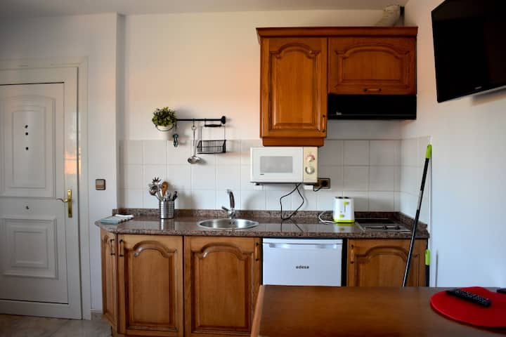 Apartamento ideal para familias con zona verde