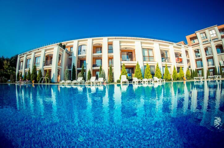 Visit Sunny Beach Maya Sea&Pool View Studio
