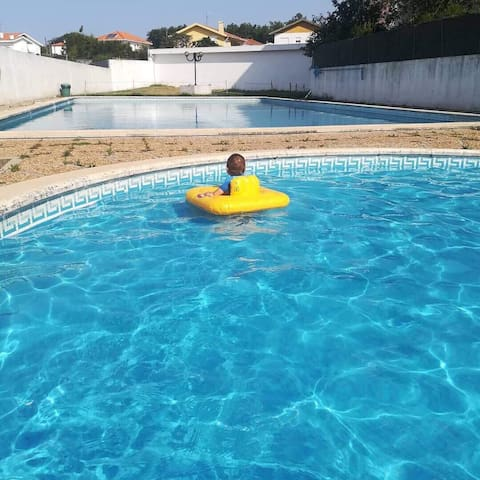 2 swimming pools, tennis court and garden...