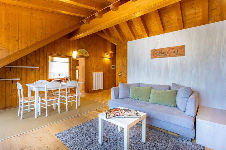 Ravascletto attic on site ski