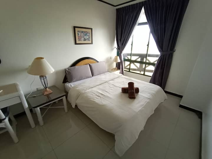 VioMaxs Mahkota 1 Bedroom/Sea view/ 6th Floor