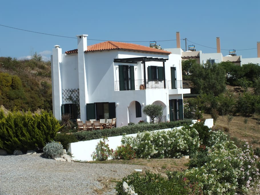 View of Anemos Villa