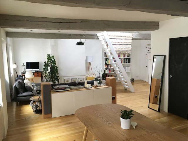 70m2 Loft in the city center - Grenoble - Loft