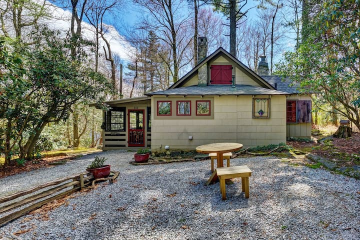 New Property! Rockwall, A Highlands1924 cabin,  Situated in the midst of National Forest!
