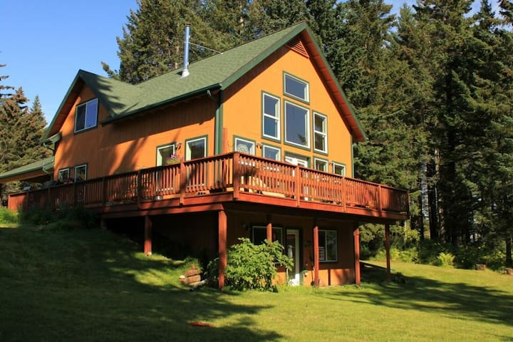 Beautiful And Airy House in Homer, AK! - Homer - Dom