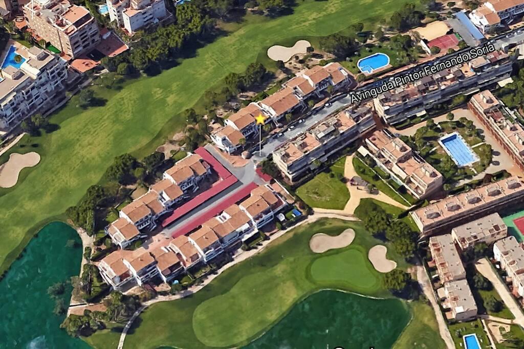 Urbanización Almoraima, en el corazón de Alicante Golf