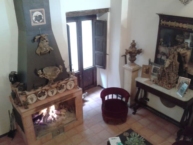 Esclusiva piccola storica Casa Museo Filangeri - Tusa - House