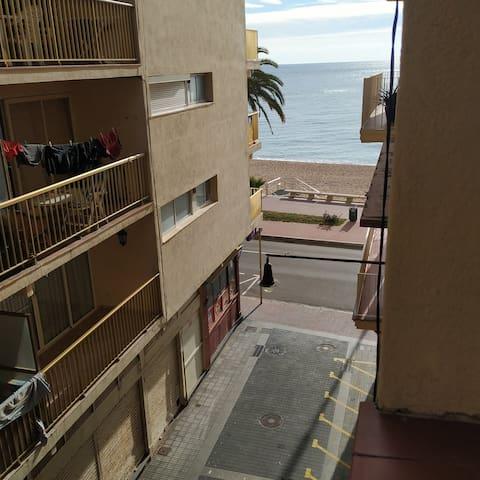 Habitación doble, acogedora y cerca del Mar.