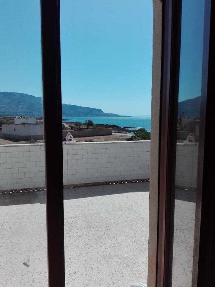 Villa Laura Baia di Cornino Trapani