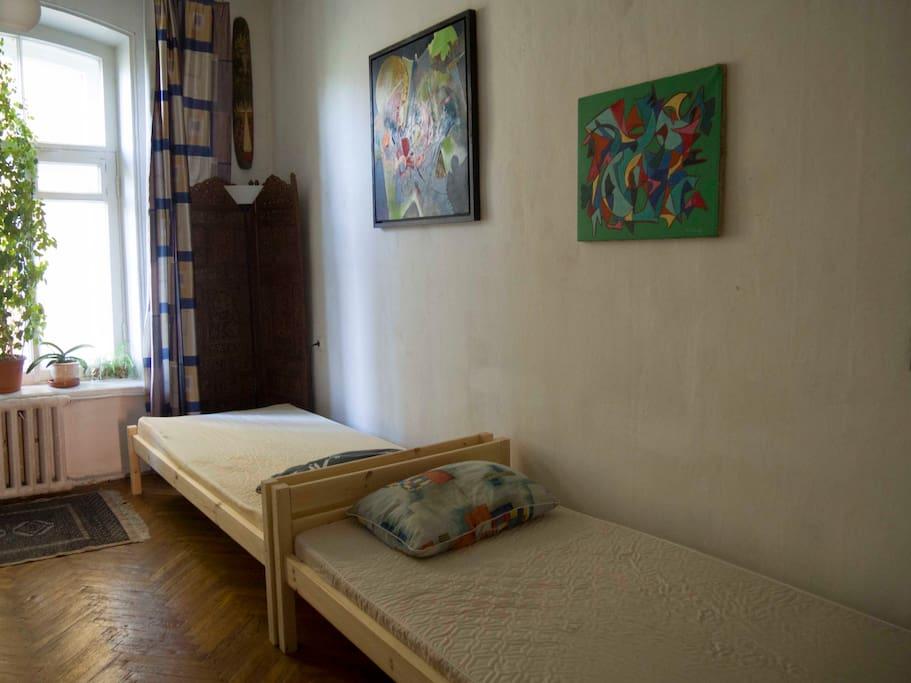 Две удобные кровати