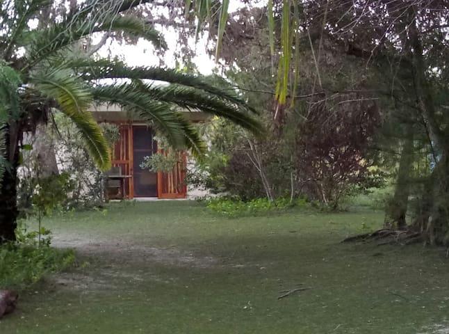 Bungalow frente al mar Dzilam Bravo, Yucatán