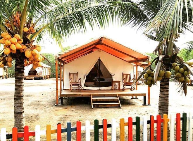Luxury 36m2 Safari tent - EL VEJO - Natur lodge