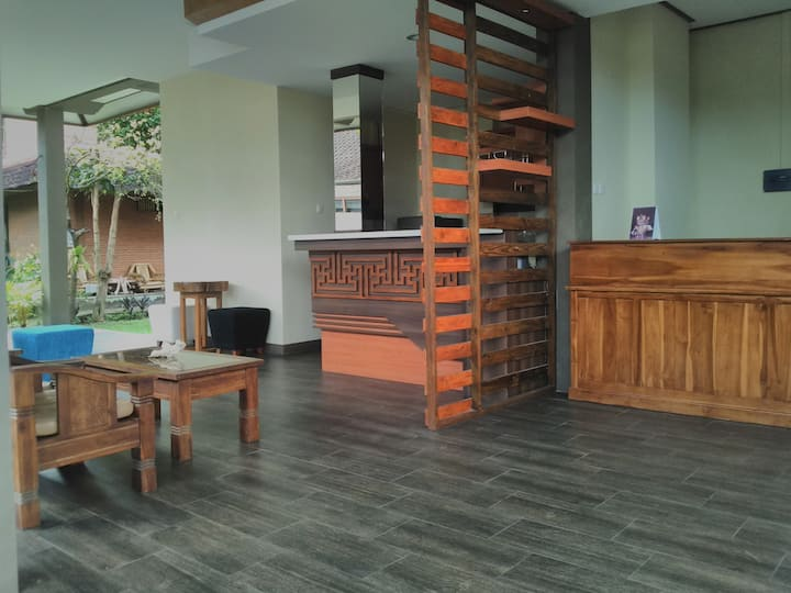 位于乌布德的印度之城寄宿之家