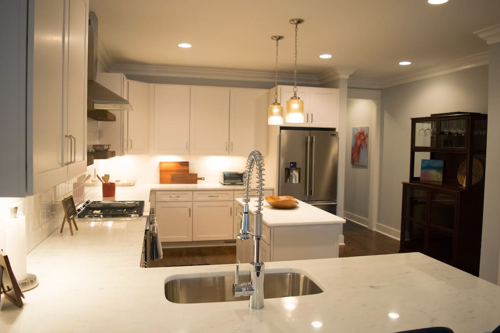 If you aren't planning to cook, this kitchen may change your mind.