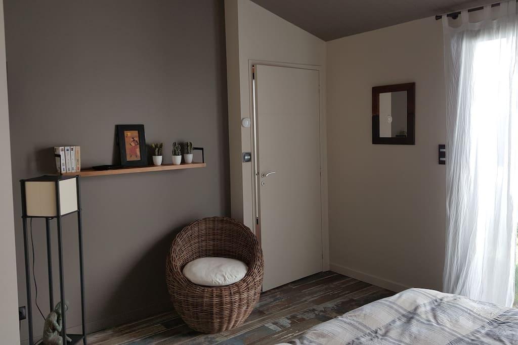 Chambre de 13 m²