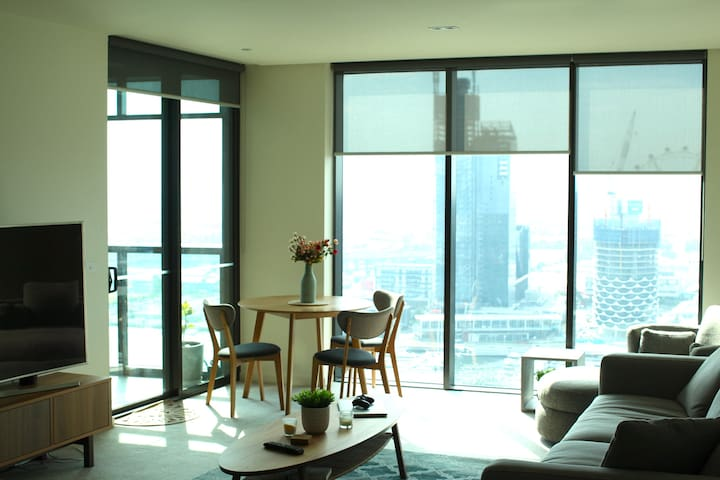 5 ★ CBD Room + Ensuite. Luxury. Gym, Pool, Spa. - Docklands - Apartment