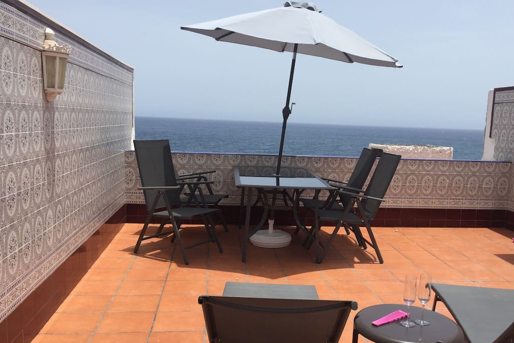 Wonderful sea view private terrace