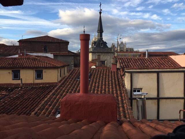 Habitación barrio húmedo ático - León - Apartmen