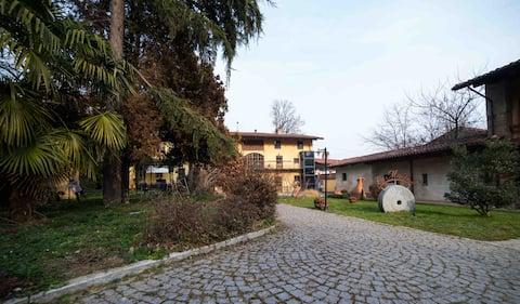 Stanza privata vicino al Lago di Viverone e Ivrea
