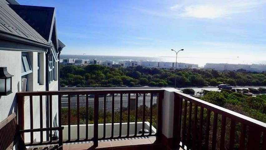 Double bed front room in sunny Blouberg home