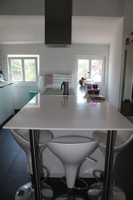 table de la cuisine