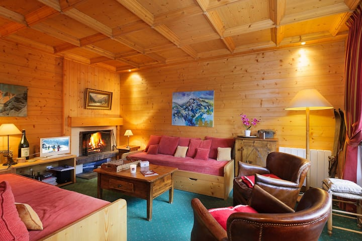 Charming apartment near the slopes and the center