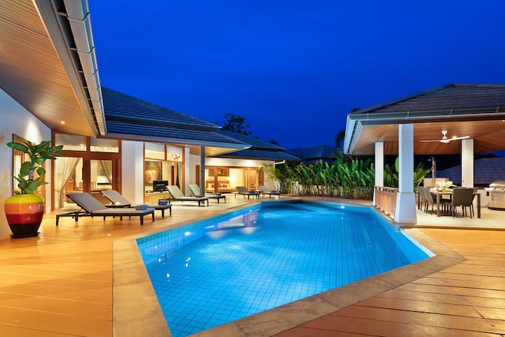 Mai Tai, luxury 3 bedroom villa with private pool