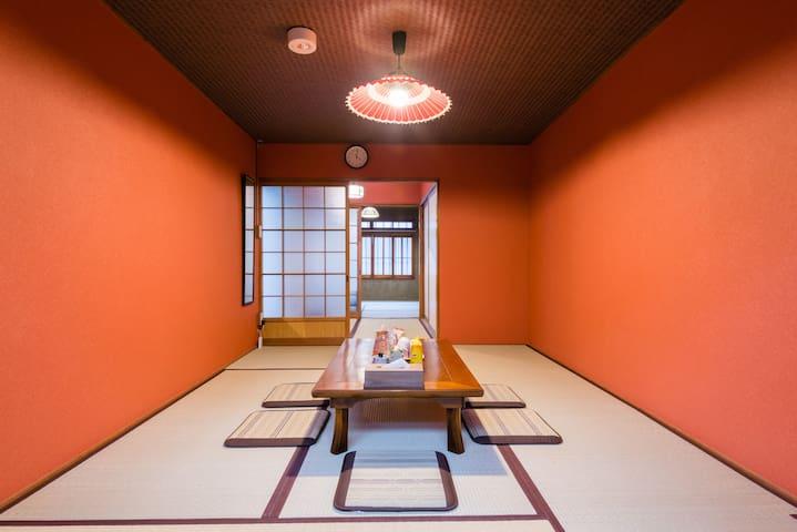 Tofukuji 3min. to Fushimi Inari! Cozy, warm, Kyoto - Higashiyamaku  - Dom