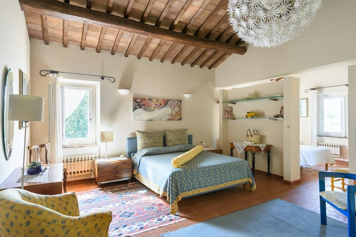 A loft with a View, in Val d'Orcia! - Chianciano Terme, Val d'Orcia - Rumah