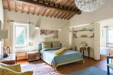 A loft with a View, in Val d'Orcia! - Chianciano Terme, Val d'Orcia
