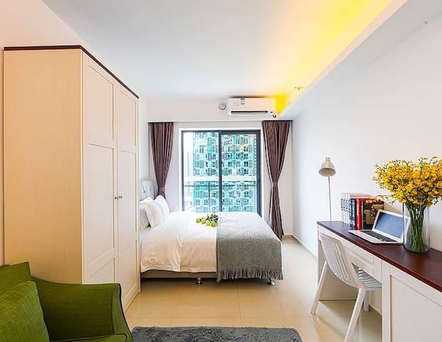 温暖气息•家庭氛围•豪华装修房 - Foshan - Apartament