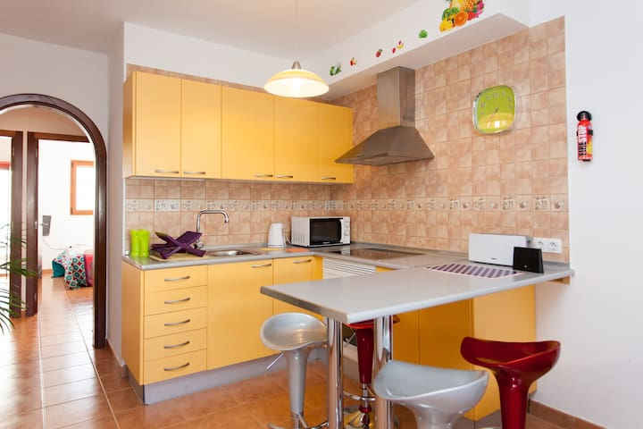 2 Bedrooms Apartment Las Gaviotas de El Cotillo