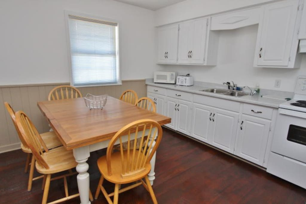 Stocked Kitchen--plus BBQ on large Deck outside
