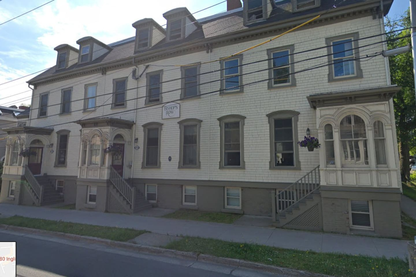 The photo shows the front of the building--an historic landmark!