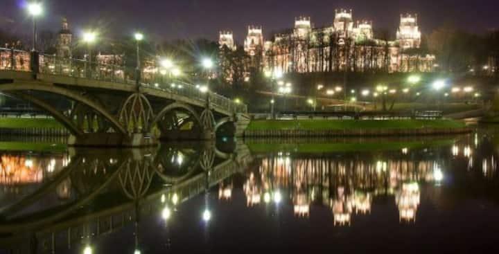 Екатерининский дворец в г. Москва