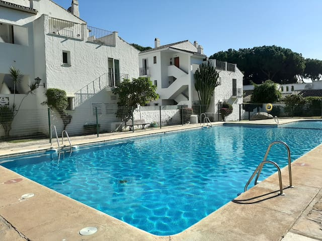 Apartment with Pool,200m from Beach near Marbella