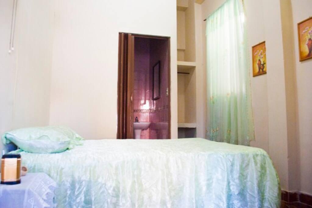 Habitación No 1 (cama matromonial)