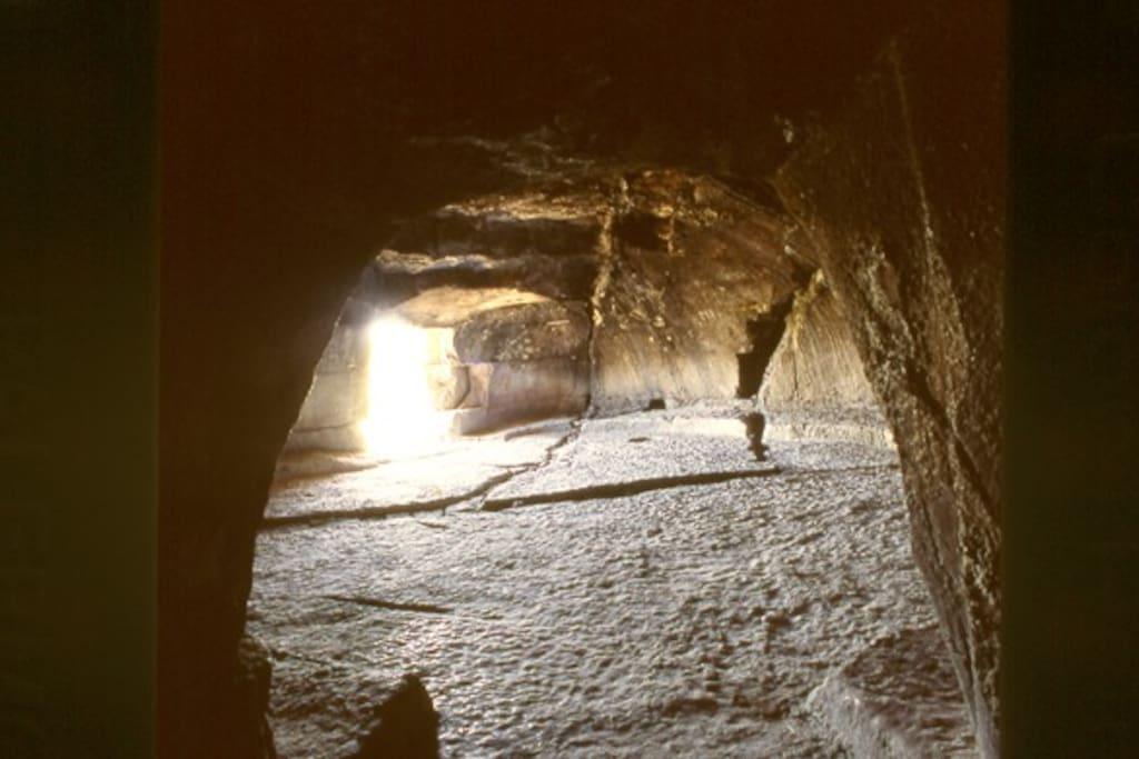 La grotta del Principe a Sant'Angelo Muxaro