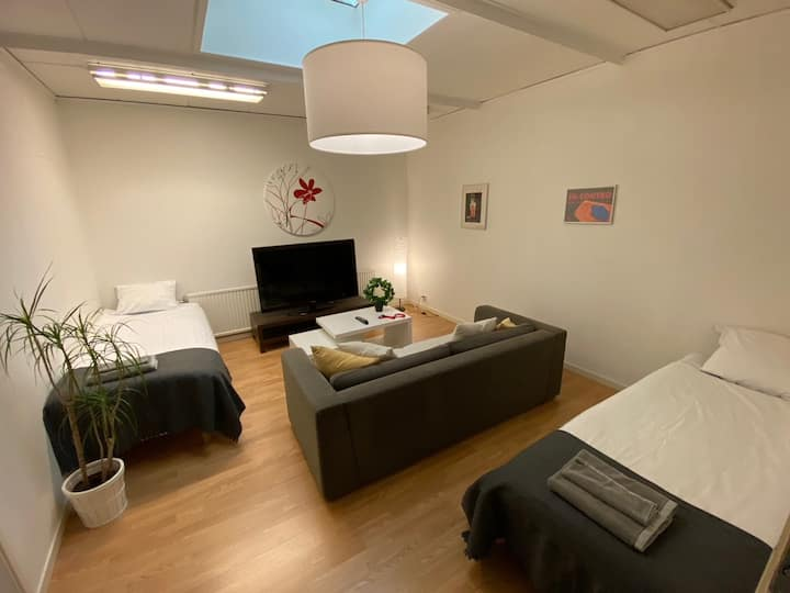 Private big room in Helsingborg close to center