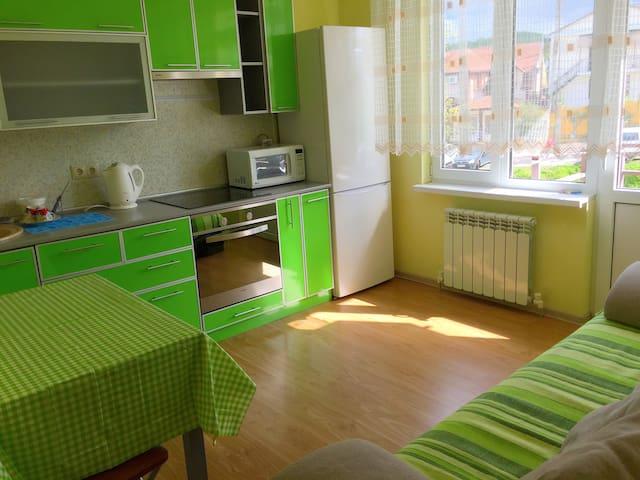 Уютная солнечная квартира для семьи - Adler - Apartament